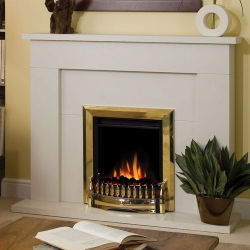 Dimplex-Exbury_Brass electric fire
