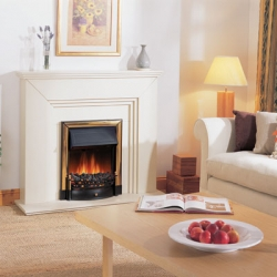 Dimplex_Chalbury-Brass electric fire