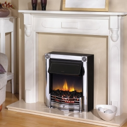 Dimplex-Horton-Chrome electric fire