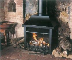 Flamewave Fires Tortoise No3-Freestanding