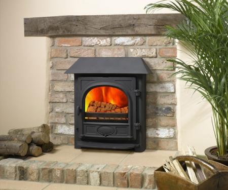 Stovax Stockton-7-inset log fire