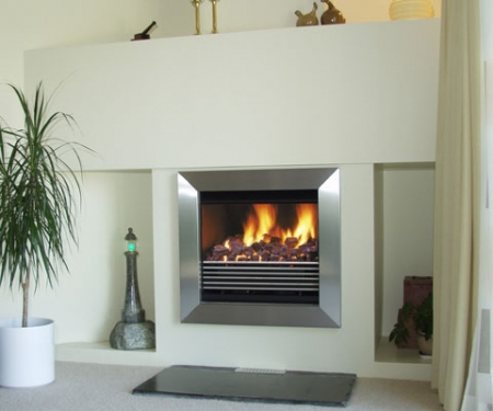 Flamewave-Cleanline open fire