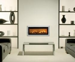 Gazco Studio-2-Bauhaus glass fronted gas fire