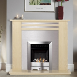 Burley-4247 flueless gas fire
