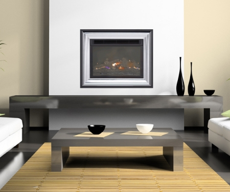 Burley-4111 flueless gas fire