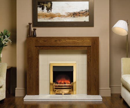 KF416_Gazco-Logic-Brass electric fire