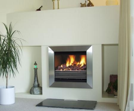 Flamewave-Cleanline multi fuel fire