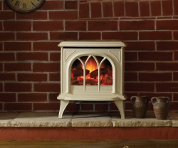 Gazco-Huntingdon-Ivory electric stove