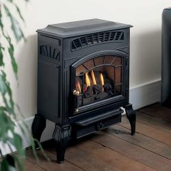 Burley-4221 flueless gas stove