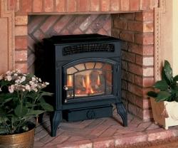Burley-4121 flueless gas stove