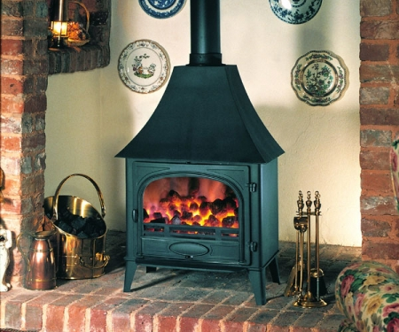 Stovax Stockton11_high-canopy multi fuel stove