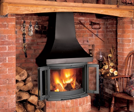 KF529_Dovre-2400 wood stove