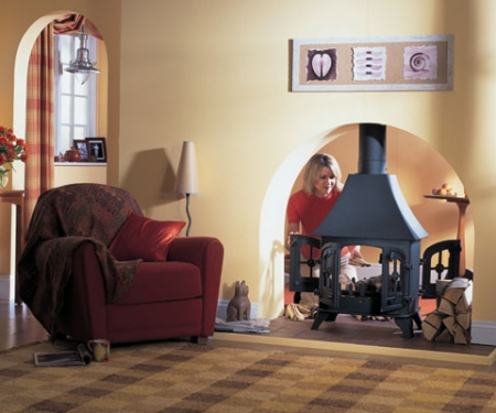 KF535_Yeoman-County double sided stove