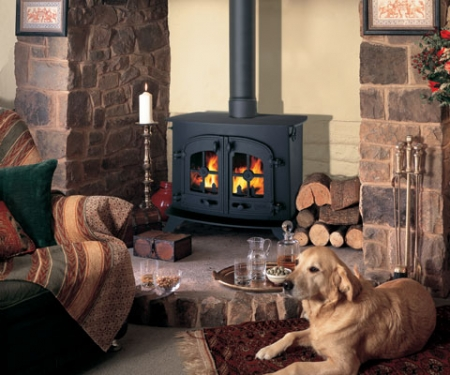 KF536_Yeoman County-wood stove