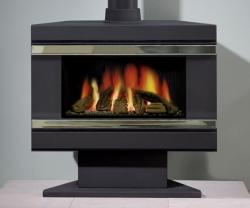 KF543_Gazco--F67-Riva-Pedestal-Gas stove