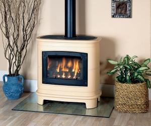 KF551_Gazco Ceramica-Manhattan gas stove