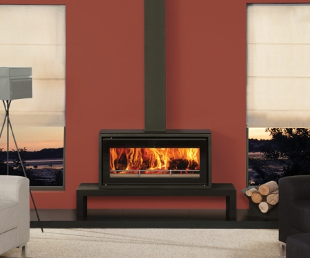 Stovax-Studio-2-Freestanding log stove