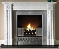 Capital-Regent-Carrara marble fire surround
