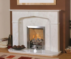 KF84_Newman Fireplaces Salerno_marble