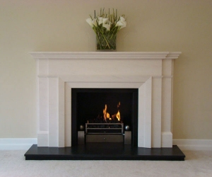 KF877 Bespoke Art Deco fireplace