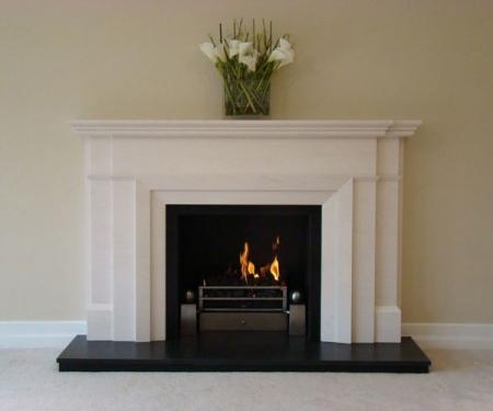 KF877 Bespoke Art Deco fireplace