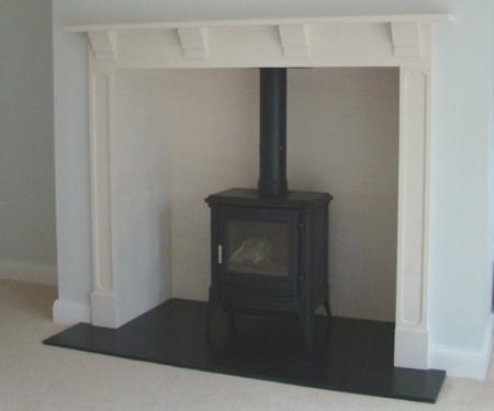KF881 Bespoke Fireplace Stanford stove