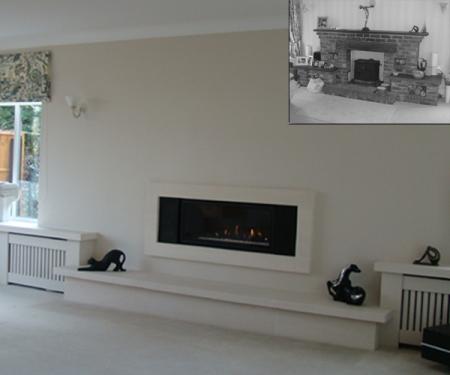 KF886 Bespoke Gazco Studio glass gas fire