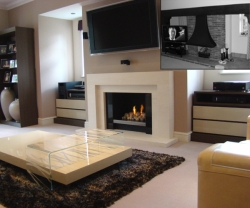 KF889 Bespoke Aquarius AQ3 fireplace