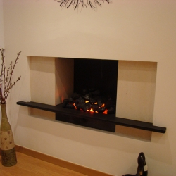 KF893 Bespoke hole-in-wall fireplace