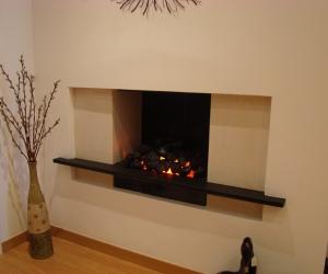 KF893 Bespoke hole-in-wall fireplace