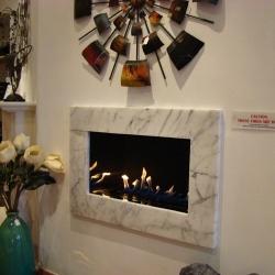 KF896 Bespoke marble fireplace