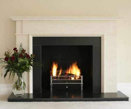 KF897 Bespoke Limestone Fireplace