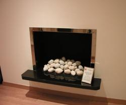 KF905 hole in wall fireplace