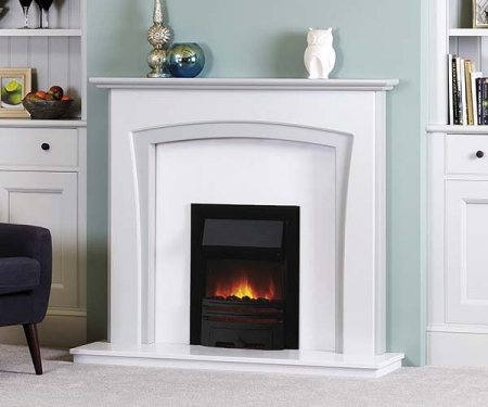 Focus Fireplaces Milan wooden fire surround