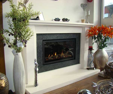 Milly bespoke gas fireplace