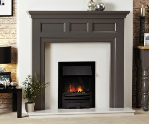 Focus Fireplaces Paris wooden fire surround