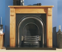 Focus Fireplaces Plain Corbel pine fire surround