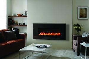 Gazco Radiance 100W Black glass electric fire