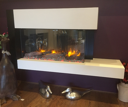 Gazco Trento suite with Skope 70W electric fire