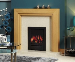 Focus Fireplaces Sydney oak fire surround