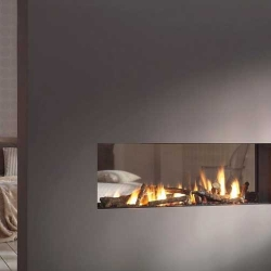 Vision Trimline TL100t-Tunnel gas fire