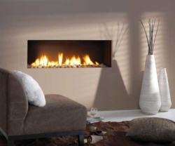 Vision Trimline TL120-Trimless gas fire