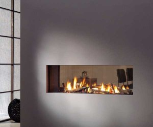 Vision Trimline TL120t-Tunnel gas fire