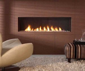 Vision Trimline TL140-Trimless gas fire