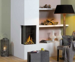 Vision Trimline TL38c-Trimless gas fire