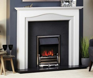 Focus Fireplaces Turin wooden fire surround