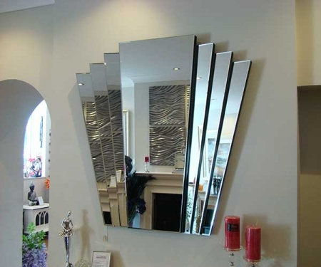 Art-deco mirror