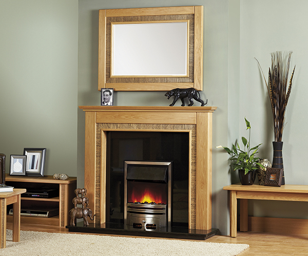 Focus Fireplaces Zanzibar fire surround