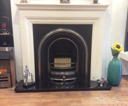 Focus fireplaces emmerdale painted timber fire surround in antique white