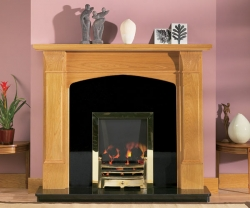 Focus Fireplaces jessica_oak fire surround